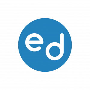 Equal Dreams Logo in Blue Circle