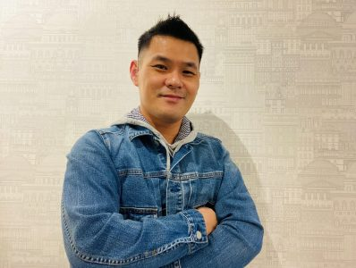 Trainer Anthony Chong